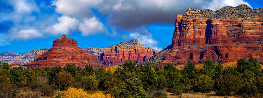 Sedona red rock view homes