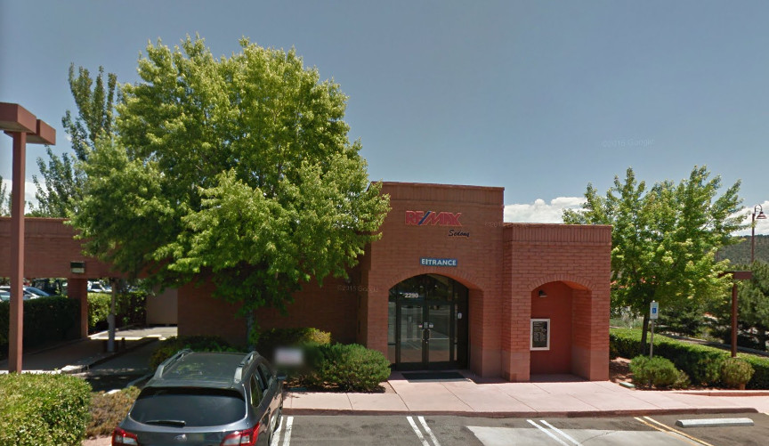 RE/MAX Sedona building and parking